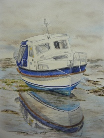Boats and Water Paintings